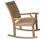 Highback Teak  Rocking Chair