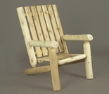 Log Style High Back Chair