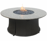 LP Gas Firebowl w/ Granite Mantel