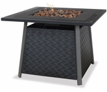 LP Gas Firebowl w/ Steel Mantel and Steel Bowl