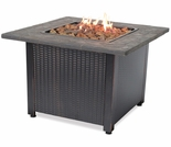 LP Gas Firebowl with Steel Mantel