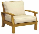 Three Birds Monterey Teak Deep Seating Armchair