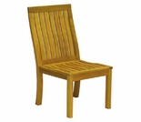 Three Birds Monterey Teak Dining Side Chair
