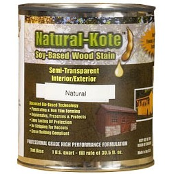 Natural Kote Wood Stain with Sealing Agent