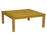 "Three Birds Newport Teak 42"" Square Coffee Table"