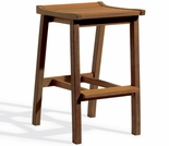 Oxford Garden Dartmoor Shorea Bar Stool - Umber Finish - Reduced Closeout Pricing