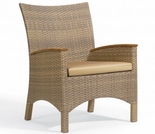 """Oxford Garden Torbay Wicker Arm Chair (Set of 2) - """"Spring Event"""" Reduced Pricing"""