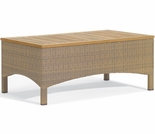Oxford Garden Torbay Wicker Coffee Table  - Closeout Pricing!