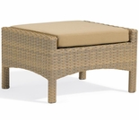 Oxford Garden Torbay Wicker Ottoman  - Closeout Pricing!