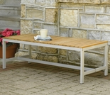 "Oxford Garden Travira 48"" Teak Backless Bench - Reduced Pricing"