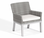 """Oxford Garden Travira Argento Resin Wicker Armchair - Set of 2 - """"Spring Event"""" Reduced Pricing"""