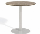 "Oxford Garden Travira Round Tekwood Top Bar Table - 24"", 32"" or 36"" Dia"