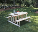 Park Style Picnic Table