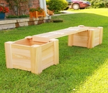 Planter Bench Set - Plus Extension Sets - Exclusive item