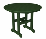 "POLYWOOD® 36"" Round Dining Table"