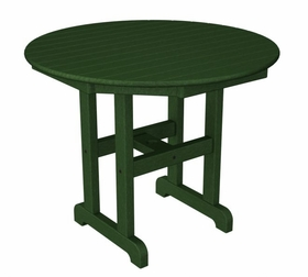 Polywood 36 Inch Round Dining Table