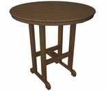 "POLYWOOD® 36"" Round Bar Height Table"
