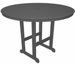 "POLYWOOD� 48"" Round Bar Height Table"