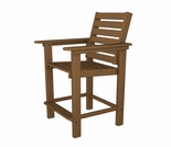 "POLYWOOD� Captain 44"" Counter Chair"
