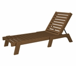 "POLYWOOD� Captain 77"" Chaise"