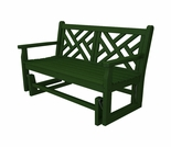 """POLYWOOD® Chippendale 34"""" Glider"""