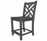 "POLYWOOD� Chippendale 41"" Counter Side Chair"