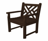 "POLYWOOD� Chippendale Garden 35"" Arm Chair"