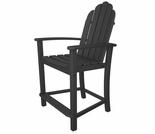 POLYWOOD� Classic Adirondack Counter Chair