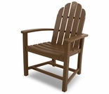 POLYWOOD� Classic Adirondack Dining Chair