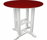 """POLYWOOD® Contempo 24"""" Round Dining Table"""