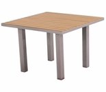 "POLYWOOD� Euro 36"" Square Dining Table"