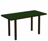 """POLYWOOD® Euro 36"""" x 72"""" Dining Table"""