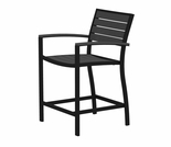 POLYWOOD� Euro Counter Arm Chair