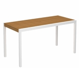 """POLYWOOD® Harvest 40"""" x 78"""" Dining Table"""
