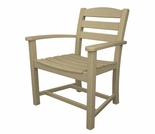 POLYWOOD� La Casa Cafe Dining Arm Chair