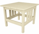 "POLYWOOD� Mission 22"" x 24"" Side Table"