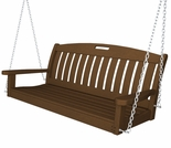 POLYWOOD� Nautical 4 FT Swing