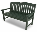 "POLYWOOD� Nautical 48"" Bench"