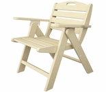 POLYWOOD� Nautical Lowback Chair