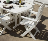 POLYWOOD® Outdoor Captain Collection