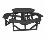"""POLYWOOD® Park 36"""" Round Picnic Table"""