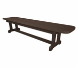 "POLYWOOD� Park 72"" Harvester Backless Bench"