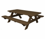 "POLYWOOD� Park 72"" Picnic Table"
