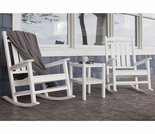 POLYWOOD� Presidential Rocking Chair 3 Piece Set