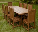 """POLYWOOD® Rockford 40"""" Dining Side Chair"""