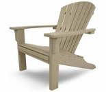 POLYWOOD� SeaShell Adirondack Chair