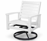 POLYWOOD� Signature Swivel Rocking Chair