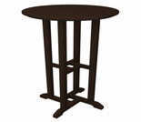 "POLYWOOD� Traditional 24"" Round Bar Table"