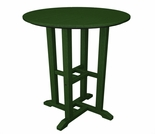 """POLYWOOD® Traditional 24"""" Round Counter Table"""