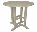 "POLYWOOD� Traditional 24"" Round Dining Table"